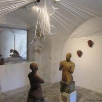 Installations et Expositions - Après la Danse - Expo Maison de la Tour - Valaurie 2014