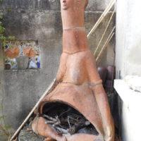 Sculptures Exterieures - La Mère du Feu