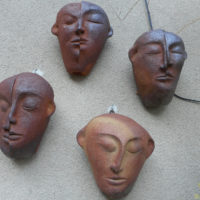 Sculptures Exterieures - Doubles Visages