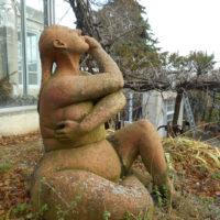 Sculptures Exterieures - La Doucheuse