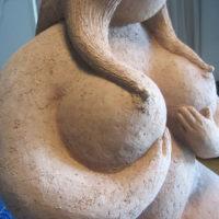 Sculptures Exterieures - La Madame détail