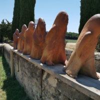 Sculptures Exterieures - Les Voyageurs