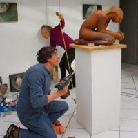 Chantal Loazac'Hmeur - Installations et Expositions - Expo Privas 2015